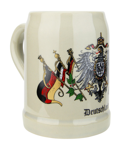Traditional German Beer Mug Half Liter