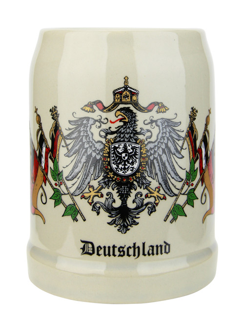 Authentic Ceramic German Beer Mug