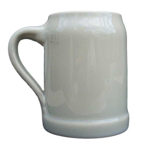 Deutschland Map German Stoneware Beer Mug 0.5 Liter