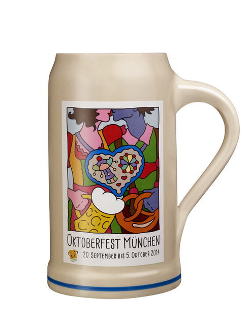 Munich 2014 Official Oktoberfest Beer Mug for Sale
