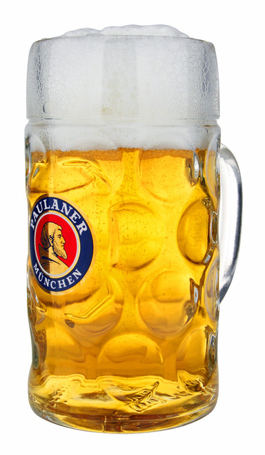 Paulaner Personalized Glass Beer Mug
