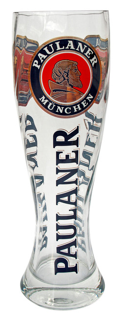 Giant Paulaner Wheat Beer Glass 3 Liter