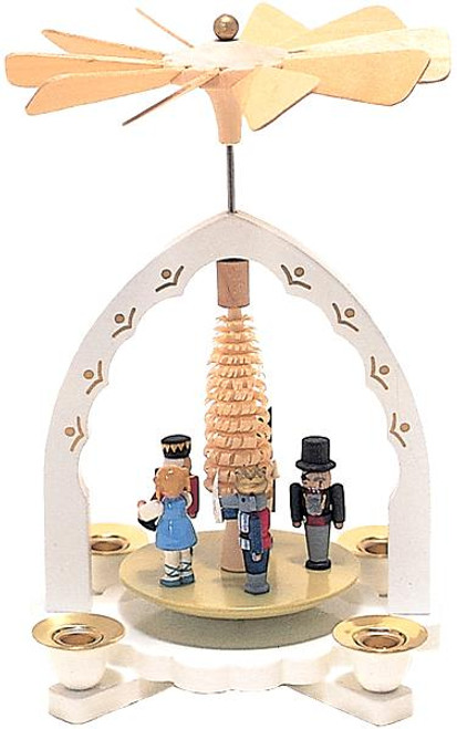 Nutcracker Suite German Wooden Pyramid