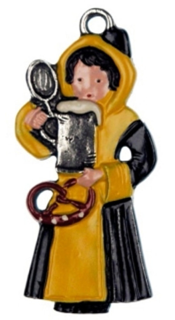 Traditional Munich Child German Christmas Ornament