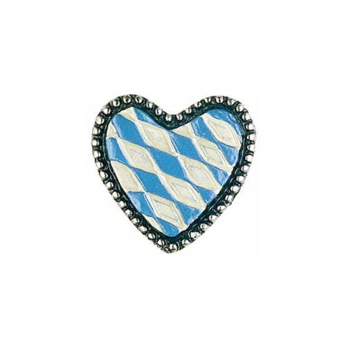 Bavarian Heart German Pewter Pin