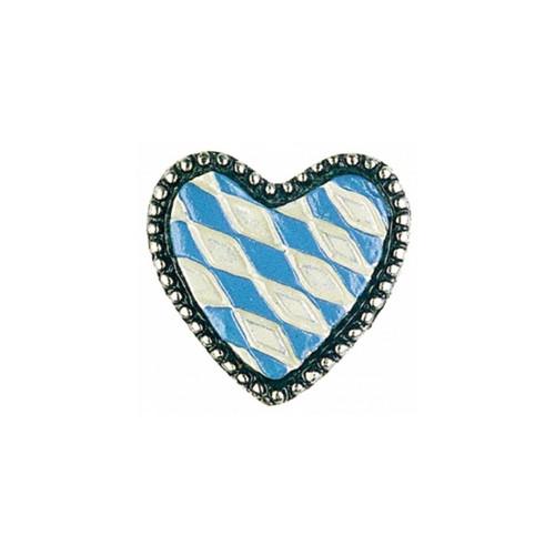 Bavarian Heart German Pewter Pin