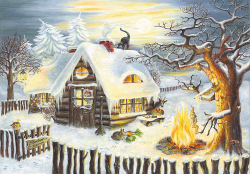 Grimms Fairy Tales German Advent Calendar