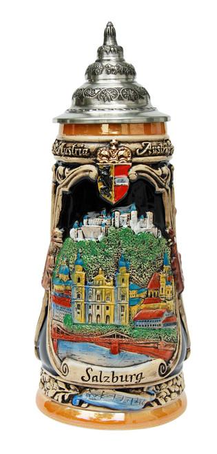 Salzburg Mozart Beer Stein