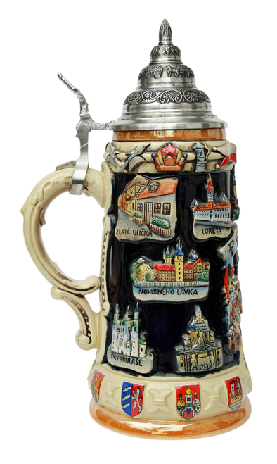 Prague Commemorative Beer Stein