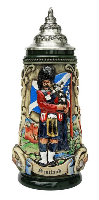 Scotland Beer Stein Rustic