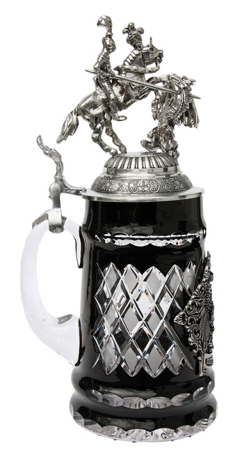 Lord of Crystal St. George the Dragon Slayer German Beer Stein
