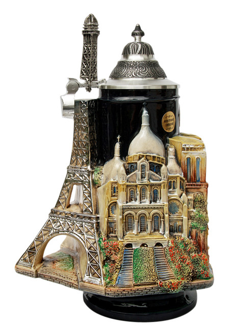 Paris France 3D Beer Stein