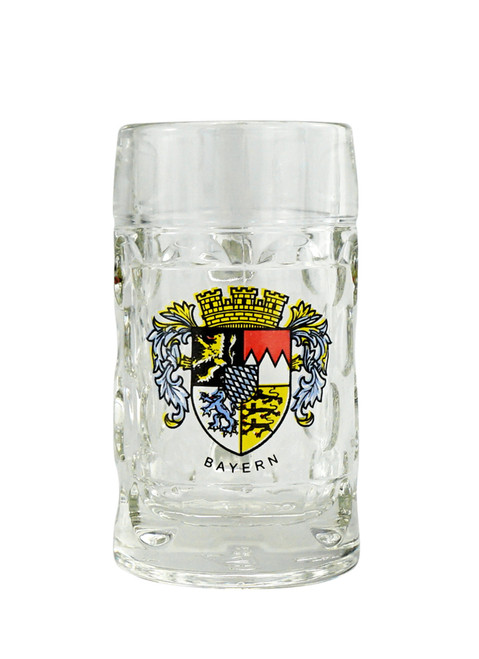 Bavarian German Beer Mug Shot Glass