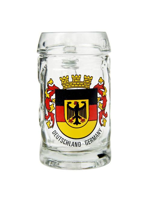 Deutschland Crest Beer Mug Shot Glass