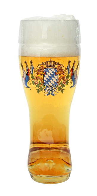 Collectible Custom German Beer Boot 0.5 Liter