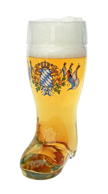 Traditional Personalized German Bavarian Beer Boot