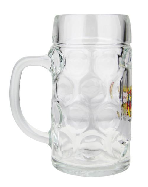 Personalized 0.5 Liter German Oktoberfest Mug with Saarland Crest
