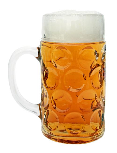 Personalized 1 Liter German Beer Mug with Saschen Crest