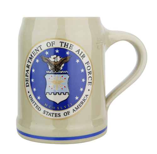 US Air Force Stoneware Beer Mug 0.5 Liter