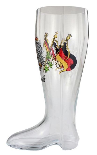 Traditional Glass Das Boot with Personalizing Option