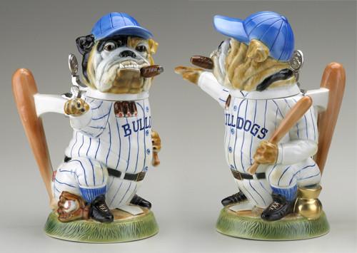 Baseball Bulldog Beer Stein