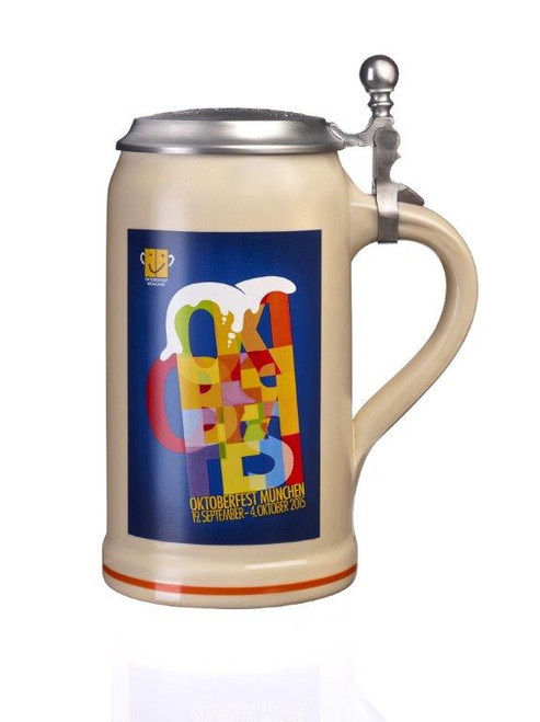 Official 2015 Munich Oktoberfest Beer Stein