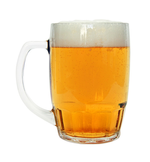 Traditional German Beer Glass 0.5 Liter