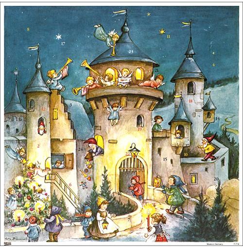 Christmas Castle German Christmas Advent Calendar