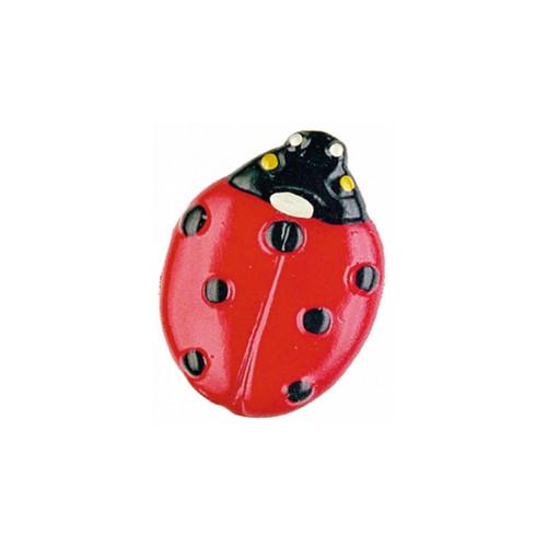 Lady Bug German Pewter Pin