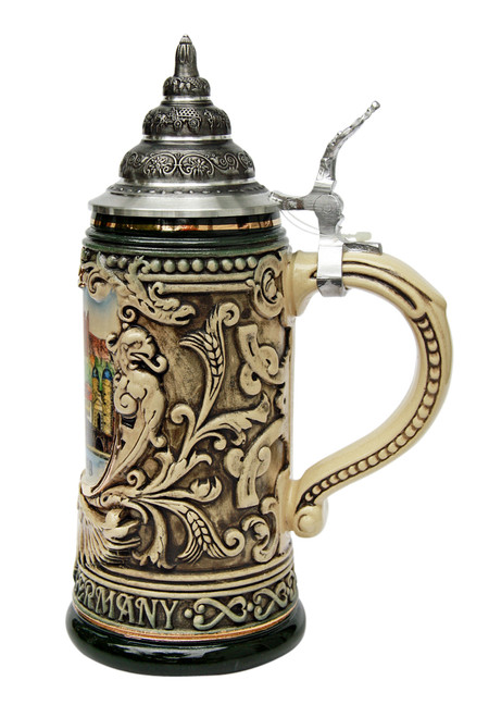Heidelberg City Skyline Beer Stein 0.4 Liter