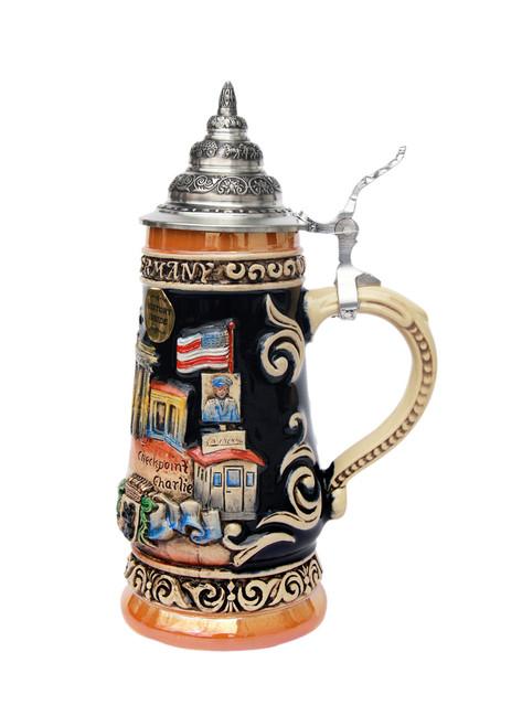 Hand-Painted German Beer Stein of  City of Berlin