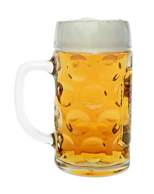 Personalized 0.5 Liter Oktoberfest Mass Krug with Saschen Crest