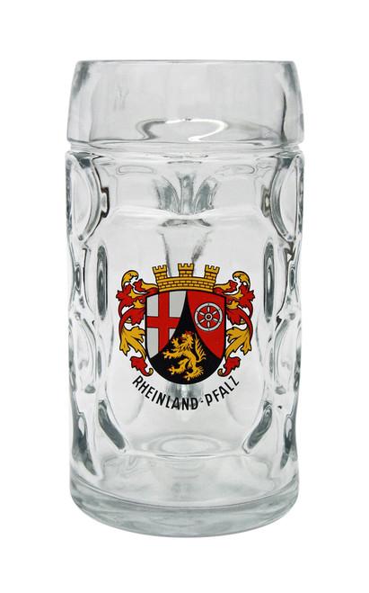 Custom Engraved 0.5 Liter Oktoberfest Rheinland Pfalz Mug