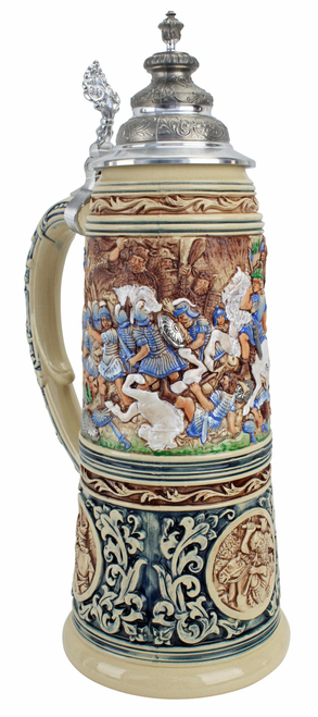 King Limitaet 2016 | Battle of Teutoburg Forest Handpainted Beer Stein
