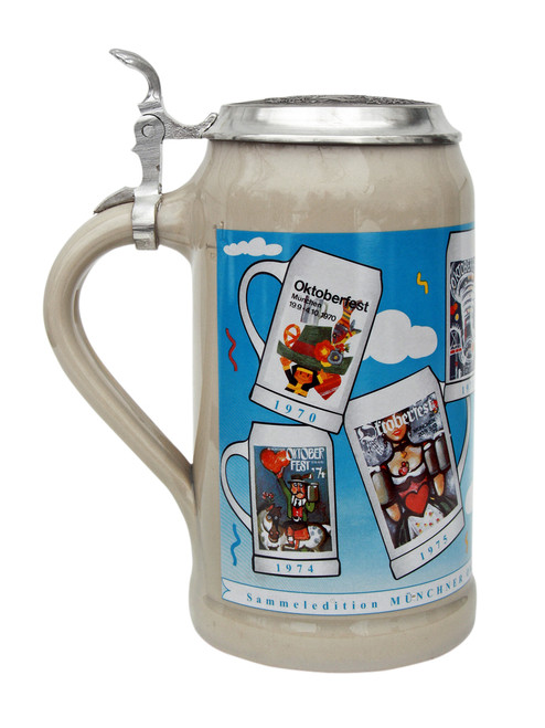 Official Oktoberfest Beer Steins 1970s Compilation