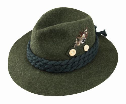42ac71e0fa4b78 Traditional German Hats | European Men's Alpine Hat Pins | Bavarian ...