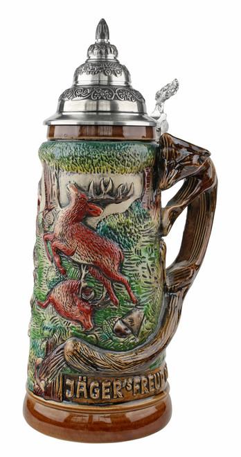 Fox Handle Hunter Beer Stein