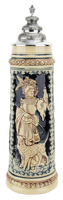 King Limitaet 2004 | Goddess of Hunters Antique Style Beer Stein