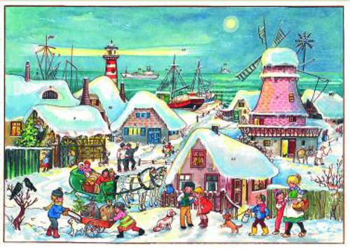 Holland Port German Christmas Advent Calendar