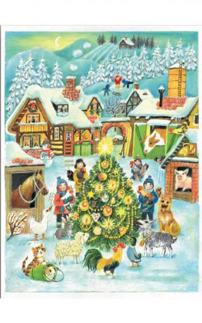 Christmas at the Farm German Advent Calendar