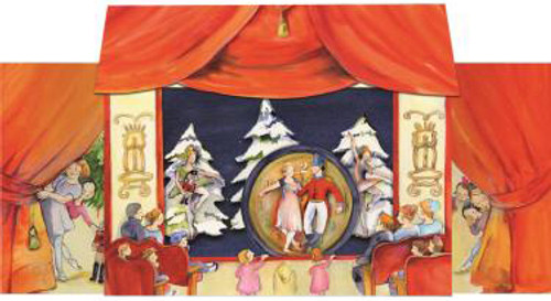 3D Pop Up German Advent Calendar Nutcracker Suite