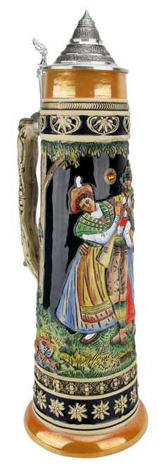 5 Liter Alpine Dance Beer Stein