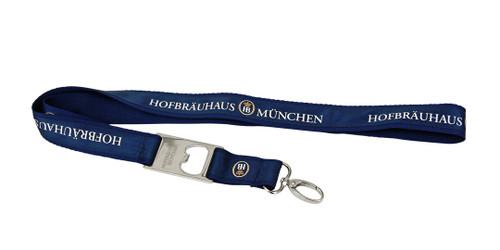 Hofbrauhaus Munchen Lanyard with Bottle Opener