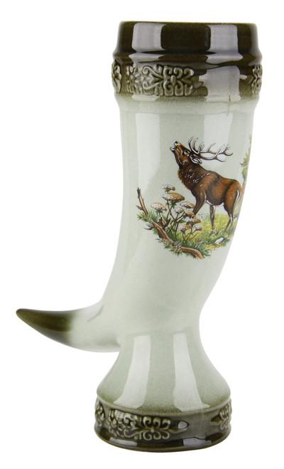 Elk Drinking Horn