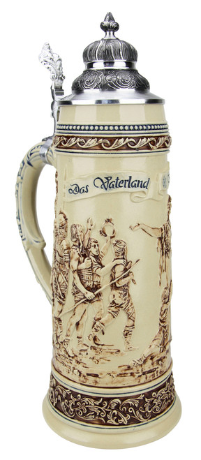 King Limitaet 2017 | Defending the Homeland Antique Style Beer Stein