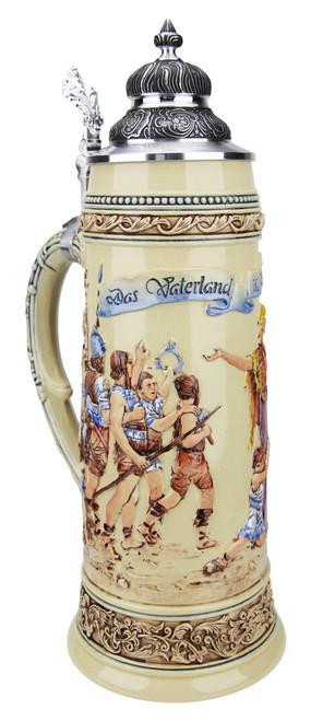 King Limitaet 2017   Defending the Homeland Handpainted Beer Stein
