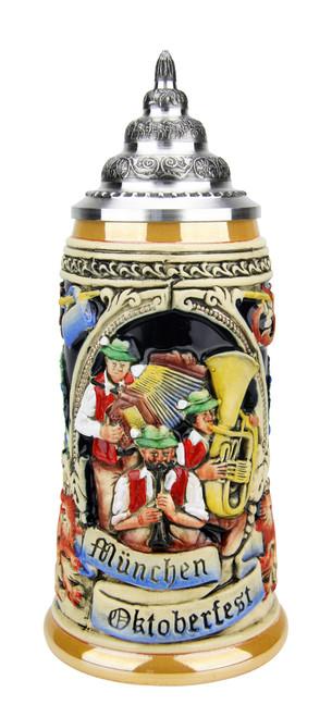 Oktoberfest Oompah Band Beer Stein | 0.4 Liter