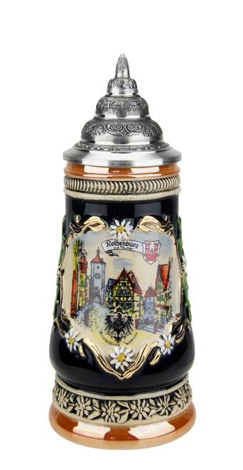 Romantic Rothenburg German Beer Stein | 0.3 Liter