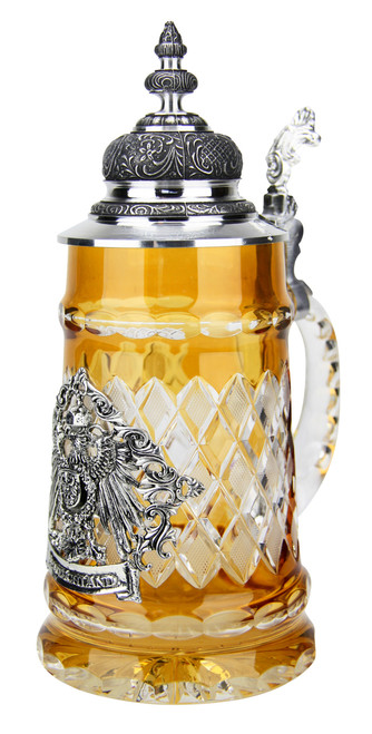 Lord of Crystal Deutschland Beer Stein Amber