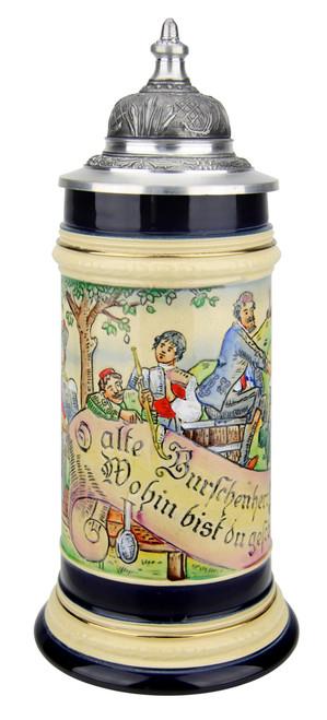 Mettlach Style Beer Stein